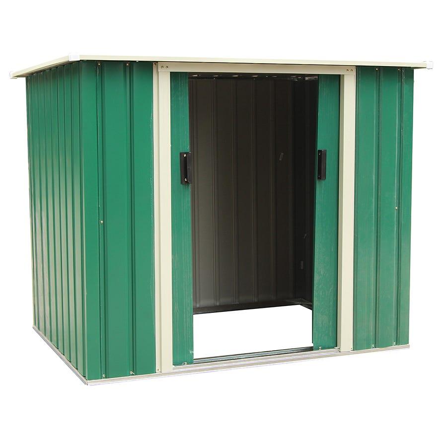 Charles Bentley Garden 5ft X 3ft Metal Storage Chest