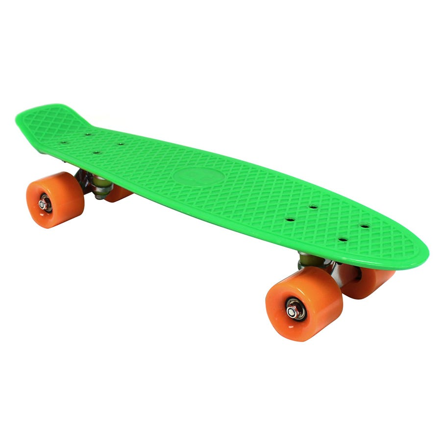Compare cheap offers & prices of Charles Bentley 22 Inch Retro Cruiser Plastic Skateboard Green manufactured by Charles Bentley