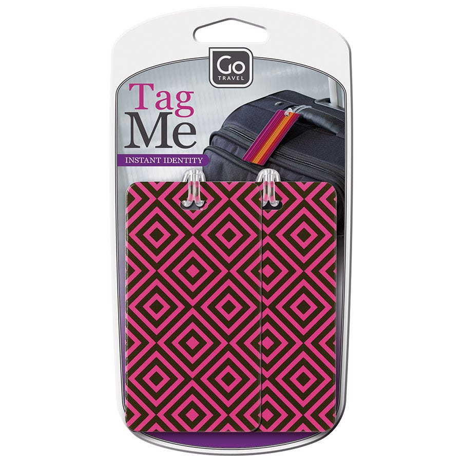 Compare prices for Go Travel Luggage Tags - Set of 2
