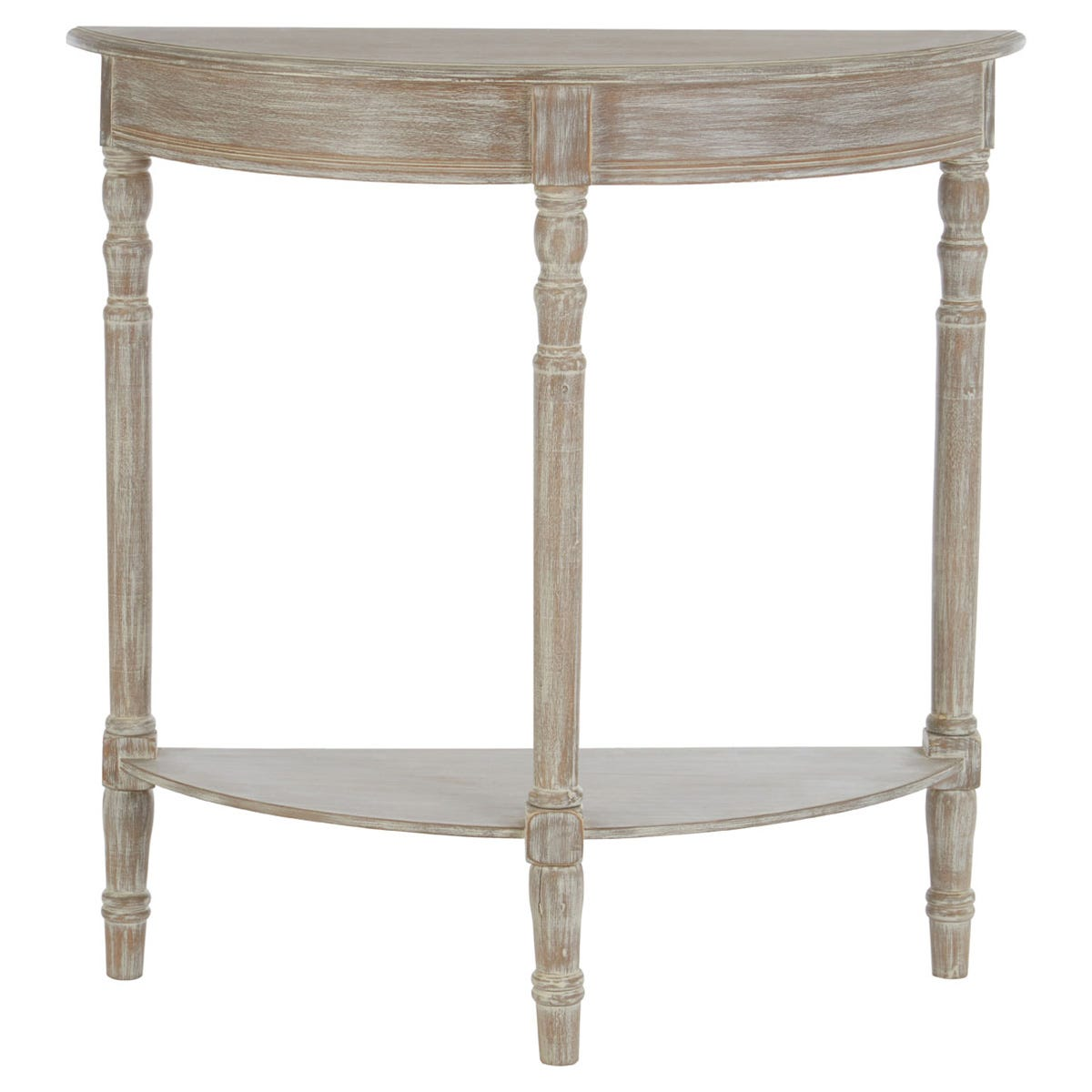 Heritage Console Table Winter Melody Half Moon / Round