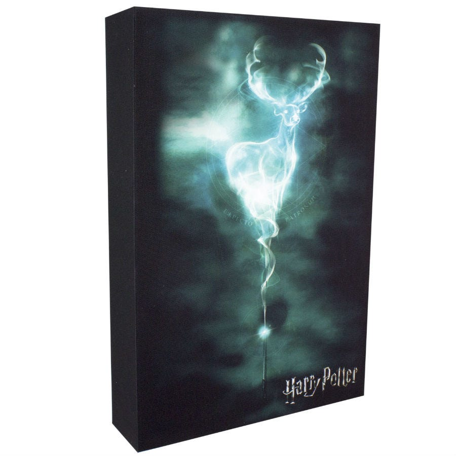 Compare prices for Harry Potter Patronus Luminart Wall Canvas