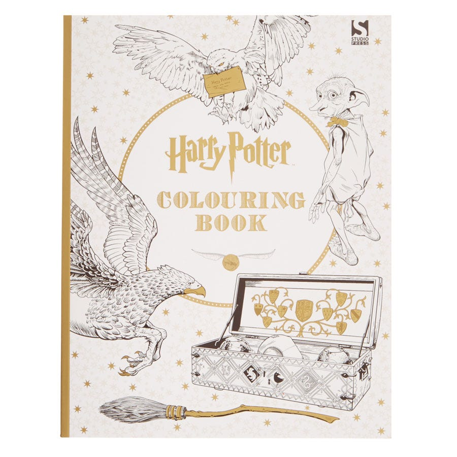 Compare prices for Harry Potter Colouring Book