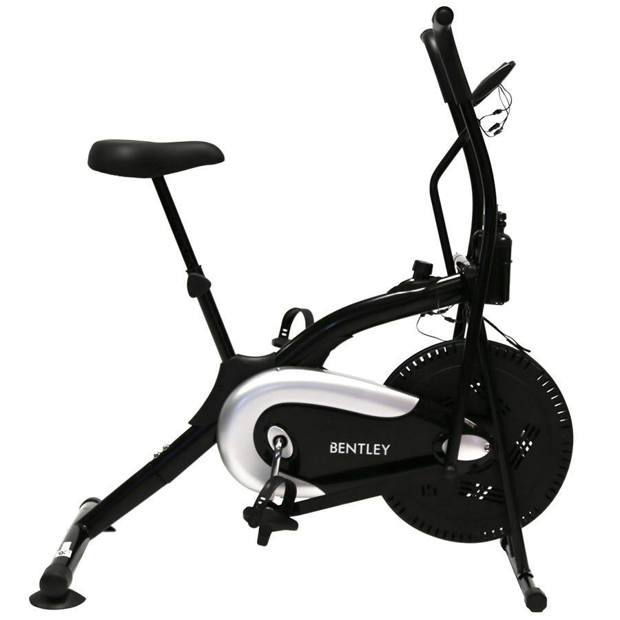 Charles Bentley Air Resistance Exercise Bike Cycle Gym Spin Cardio Sensor