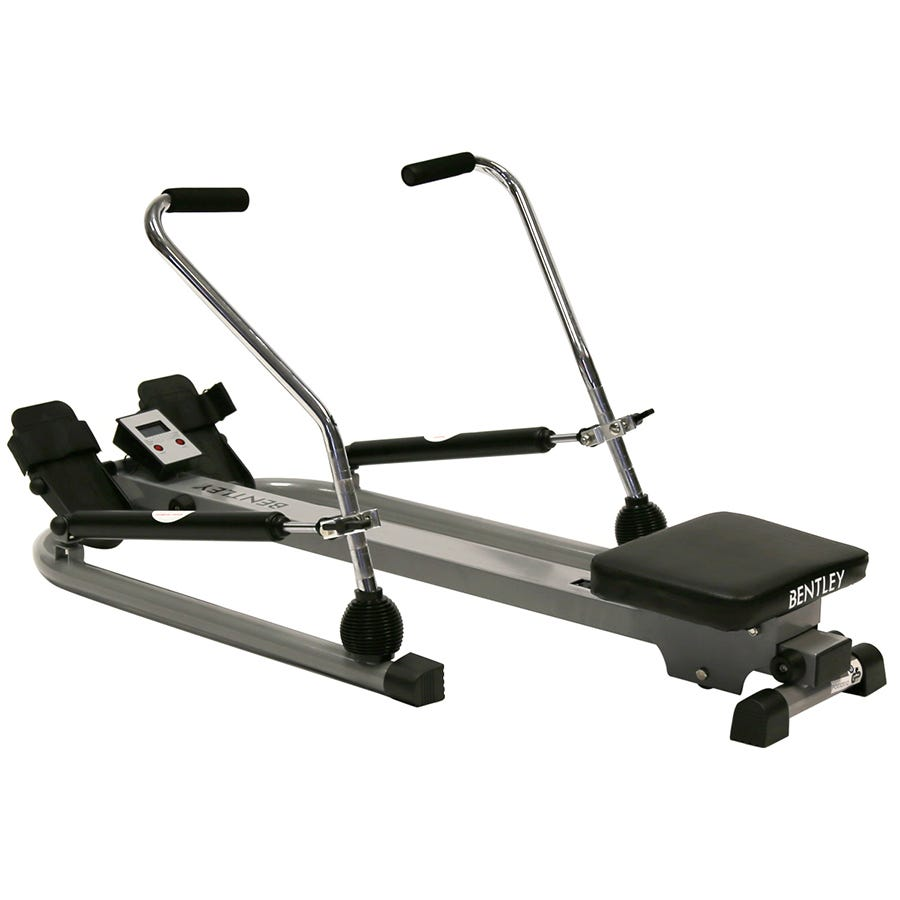 Compare cheap offers & prices of Charles Bentley Twin Dual Hydraulic Rowing Machine Cardio Exercise Weight Loss manufactured by Charles Bentley