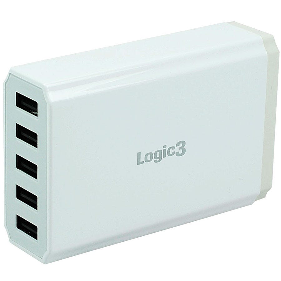 Compare prices for Logic3 Hi-Power 5-Port Portable USB Smart Charger
