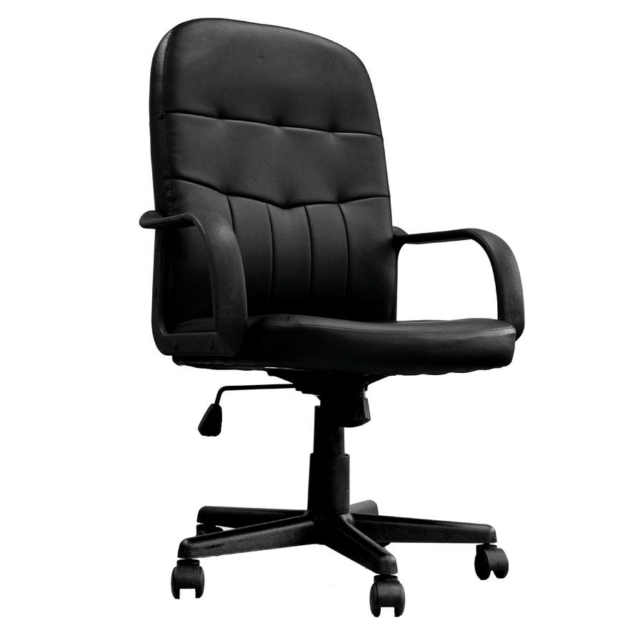 Compare prices for Eliza Tinsley High-Back Leather-Faced Managers Chair