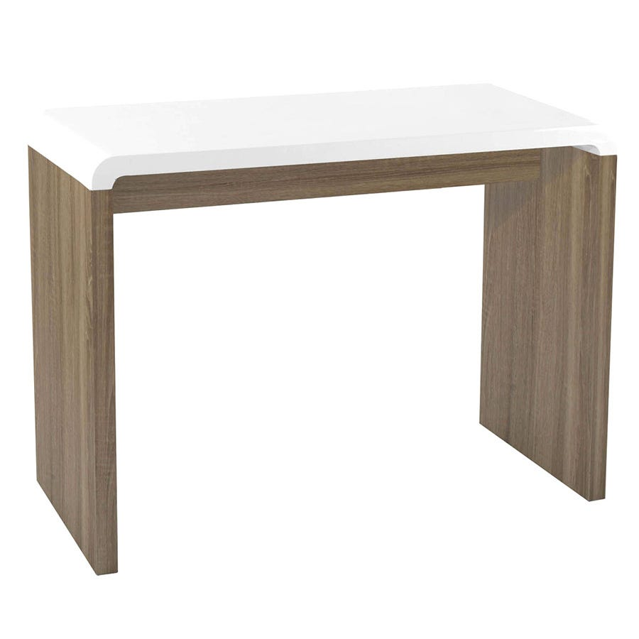 Compare cheap offers & prices of Charles Bentley Walnut Gloss Console Table manufactured by Charles Bentley