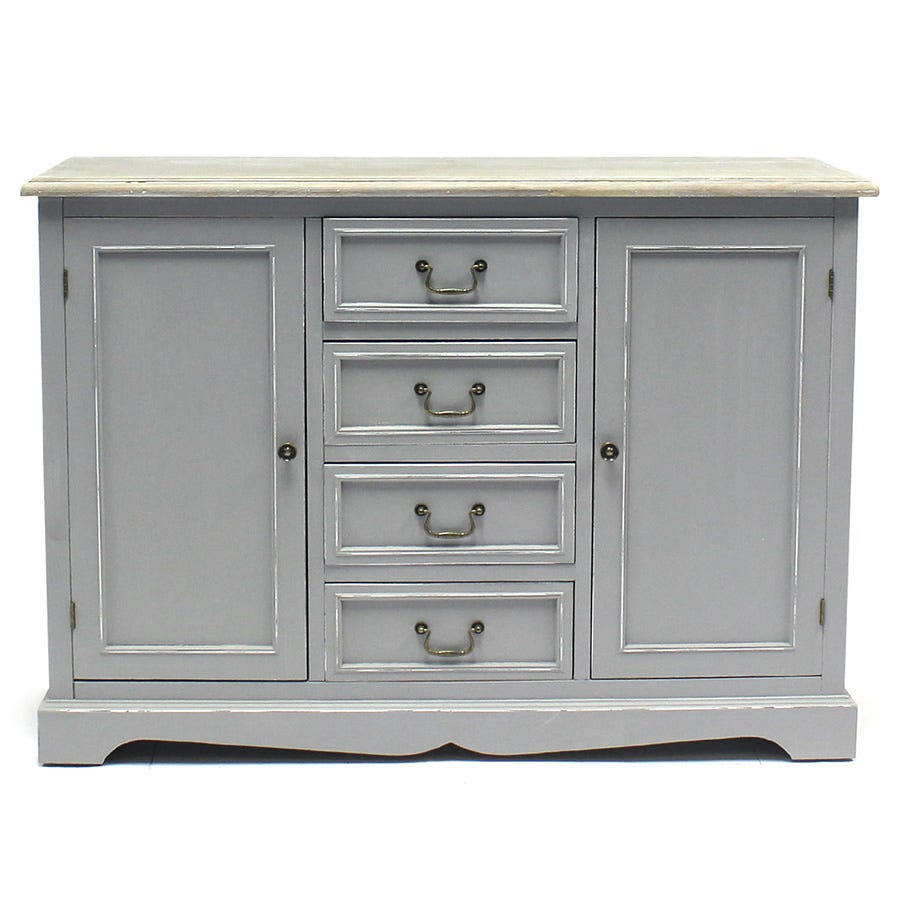 Compare cheap offers & prices of Charles Bentley Loxley Country Cabinet Sideboard manufactured by Charles Bentley