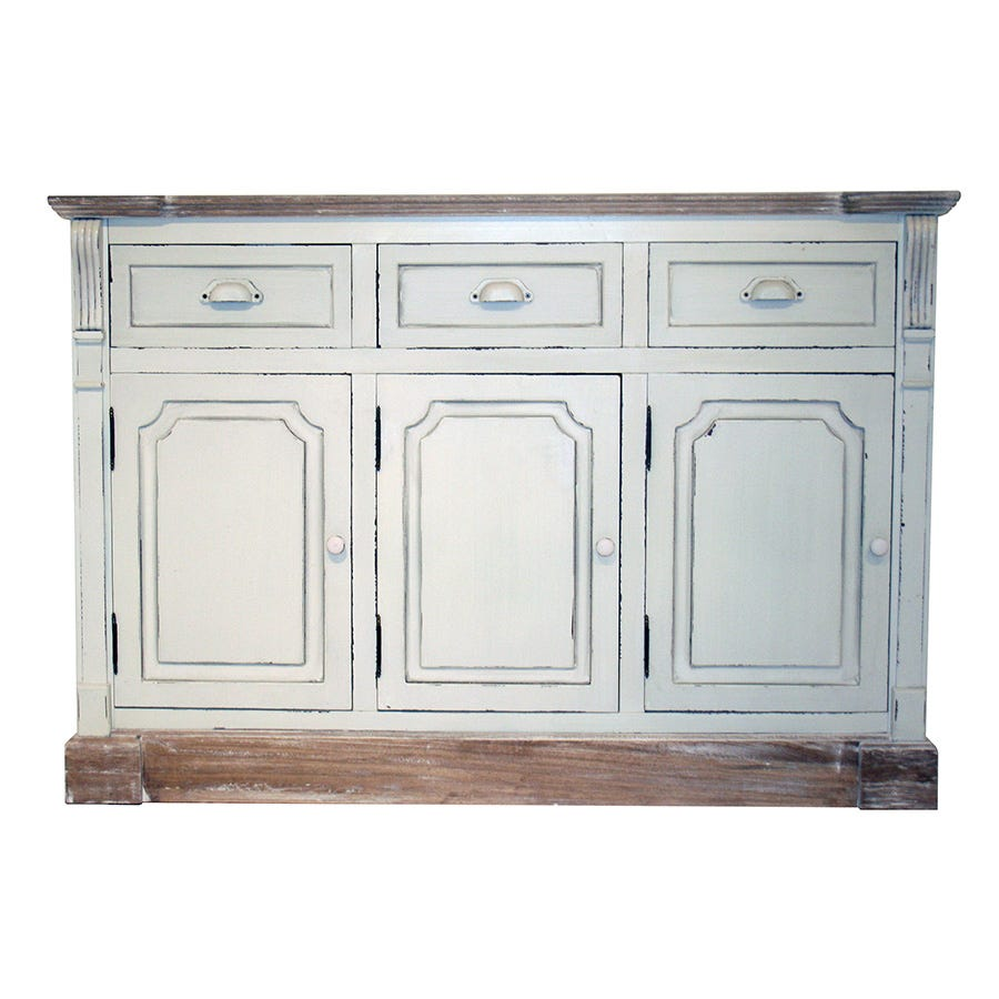 Compare cheap offers & prices of Charles Bentley Shabby Chic Vintage French Style Cabinet Sideboard with Drawers manufactured by Charles Bentley