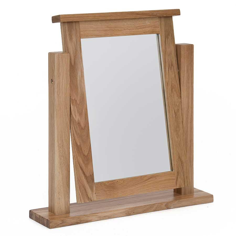 Ametis Hereford Oak Dressing Table Mirror
