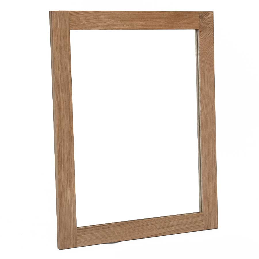 Ametis Hereford Oak Small Wall Mirror