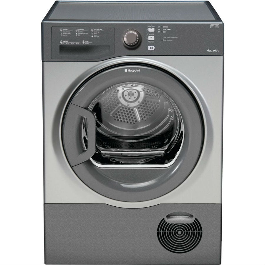Hotpoint Aquarius TCFS73BGG 7kg Condenser Tumble Dryer