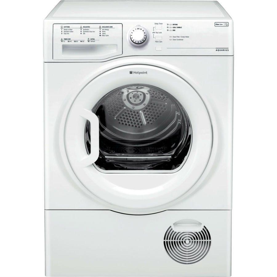 Hotpoint Aquarius TCFS73BGP Condenser Tumble Dryer - White