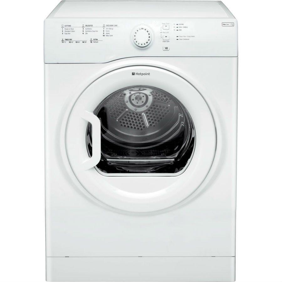 Hotpoint Aquarius TVFS73BGP Vented Tumble Dryer - White