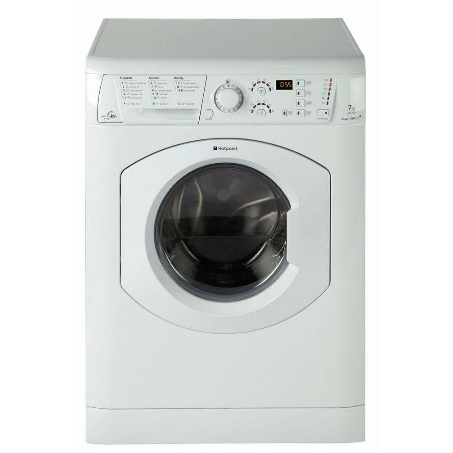Hotpoint Aquarius WDF740P Washer Dryer - White