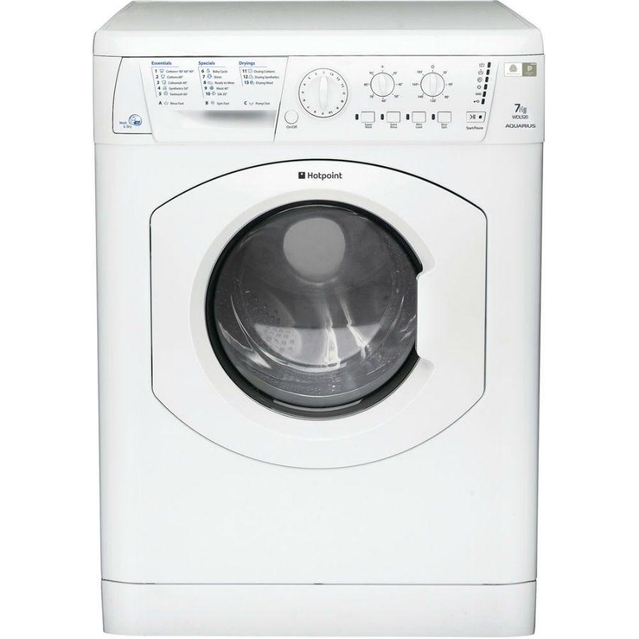 Hotpoint Aquarius WDL520P.C Washer Dryer - White