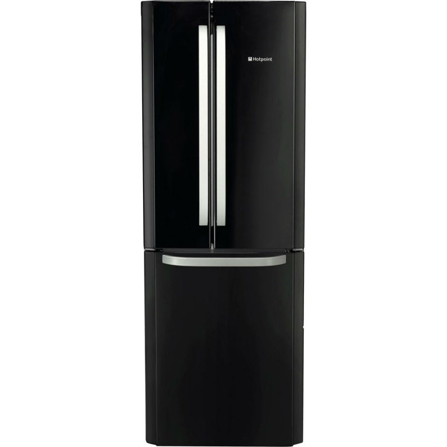 Compare cheap offers & prices of Hotpoint FFU3DGK Fridge Freezer - Black manufactured by Hotpoint