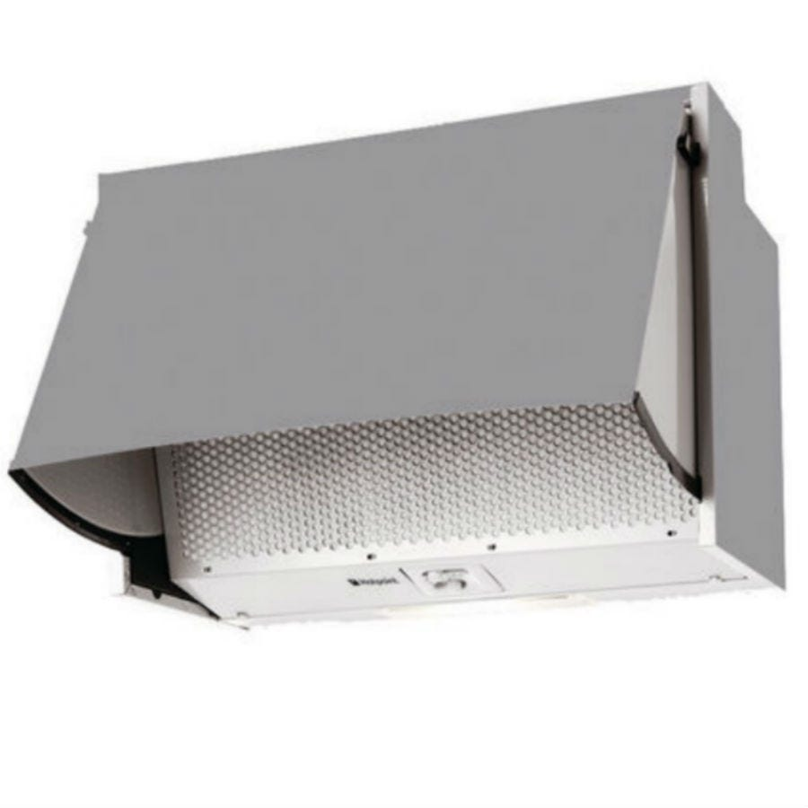 Compare cheap offers & prices of Hotpoint HTN41 Built-in Cooker Hood - White manufactured by Hotpoint