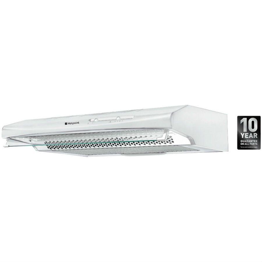 Hotpoint HTV10P 60cm Cooker Hood - White