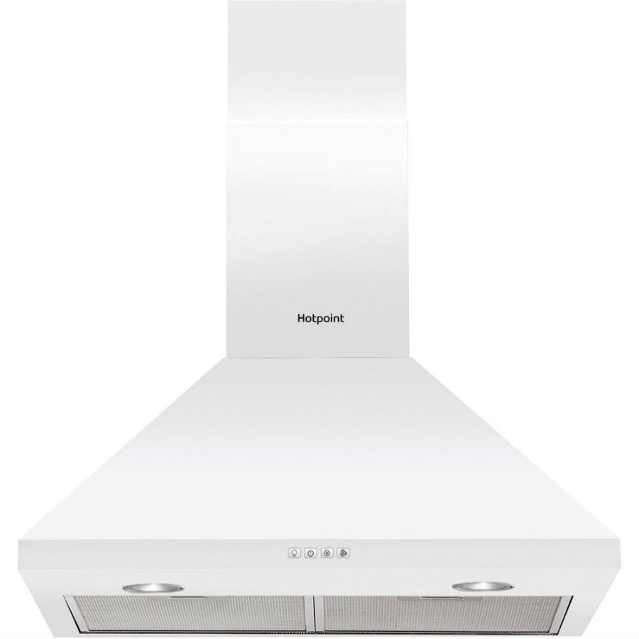Compare cheap offers & prices of Hotpoint PHPC64FAMW 60cm Cooker Hood - White manufactured by Hotpoint