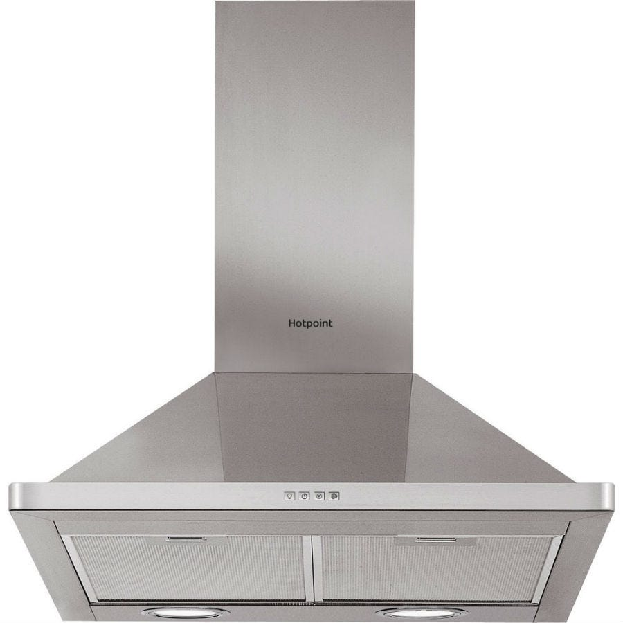 Compare cheap offers & prices of Hotpoint PHPN64FAMX 60cm Cooker Hood - Stainless Steel manufactured by Hotpoint