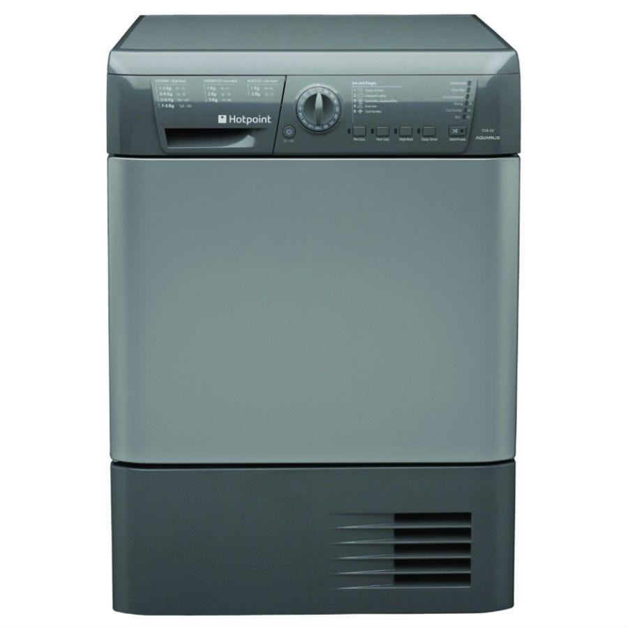 Hotpoint TCHL83BRG Condenser Tumble Dryer - Graphite