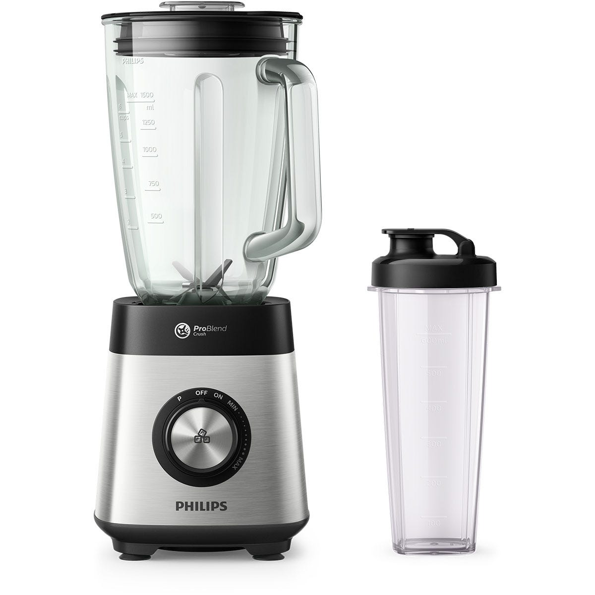 Philips HR3573/91 1000W Series 5000 Blender - Silver