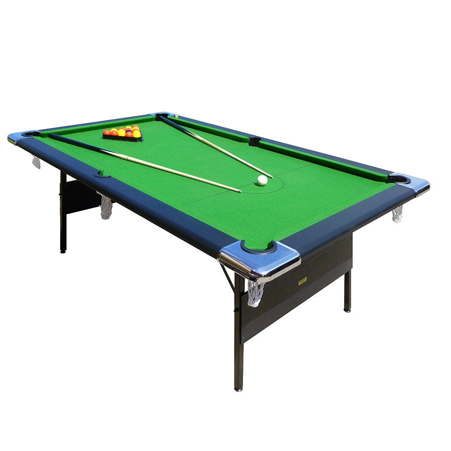 Compare prices for Mightymast Hustler 7ft Folding Pool Table