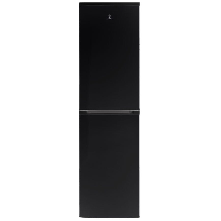 Compare retail prices of Indesit CVTAA55NFK Fridge Freezer - Black to get the best deal online