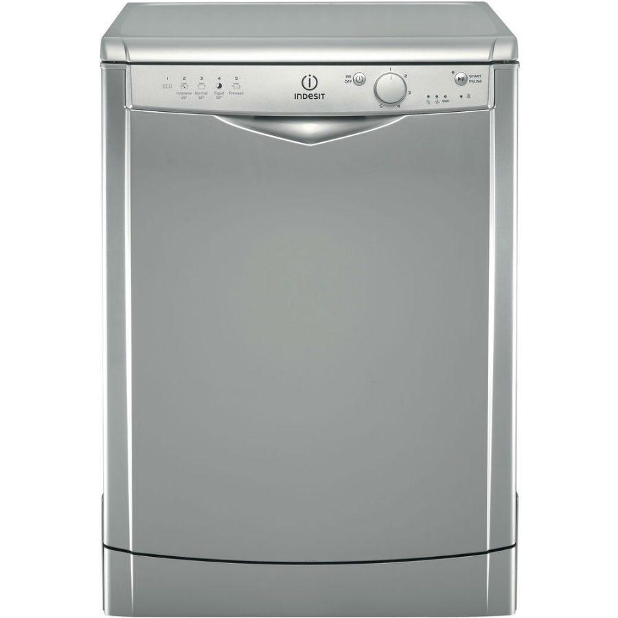 indesit ecotime dfg15b1s dishwasher - silver