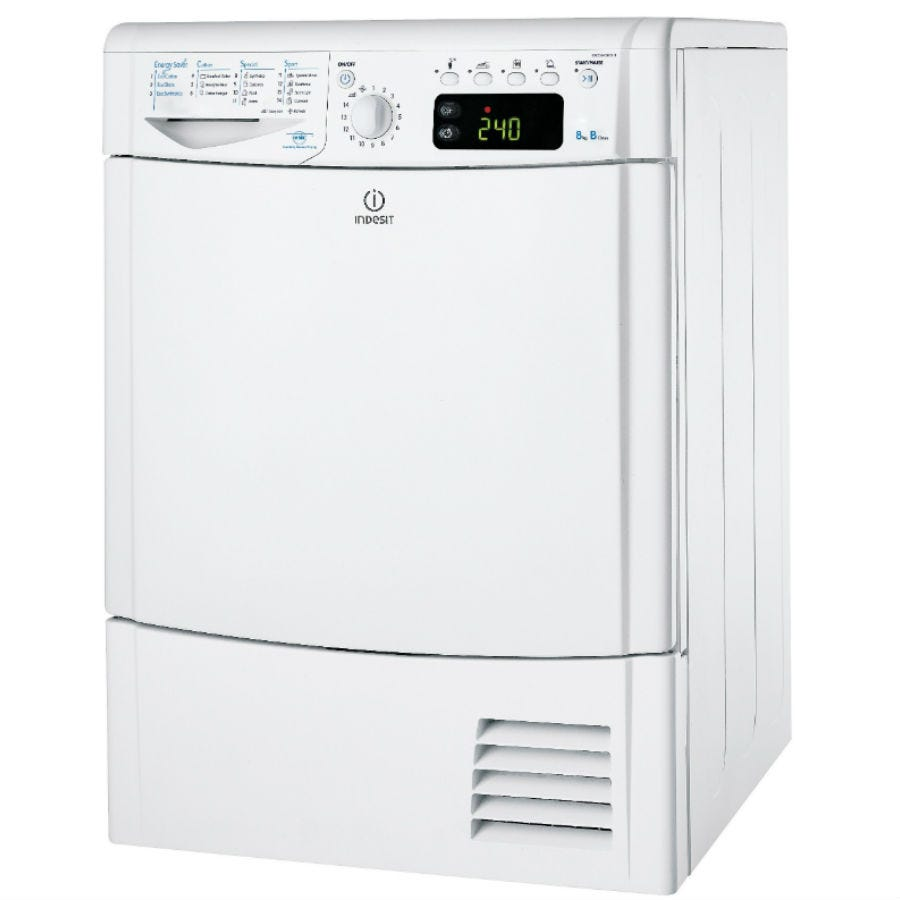 Compare prices for Indesit Ecotime IDCE8450BH Condenser Tumble Dryer - White