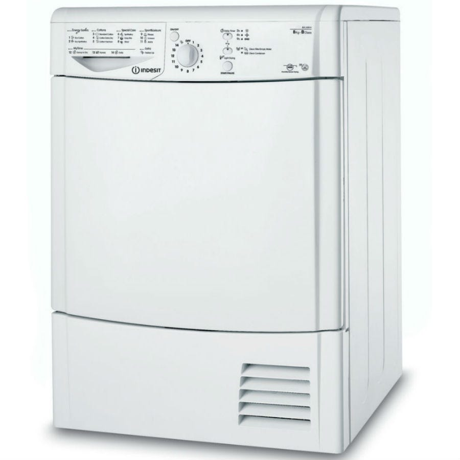 Indesit Ecotime IDCL85BH Condenser Tumble Dryer - White