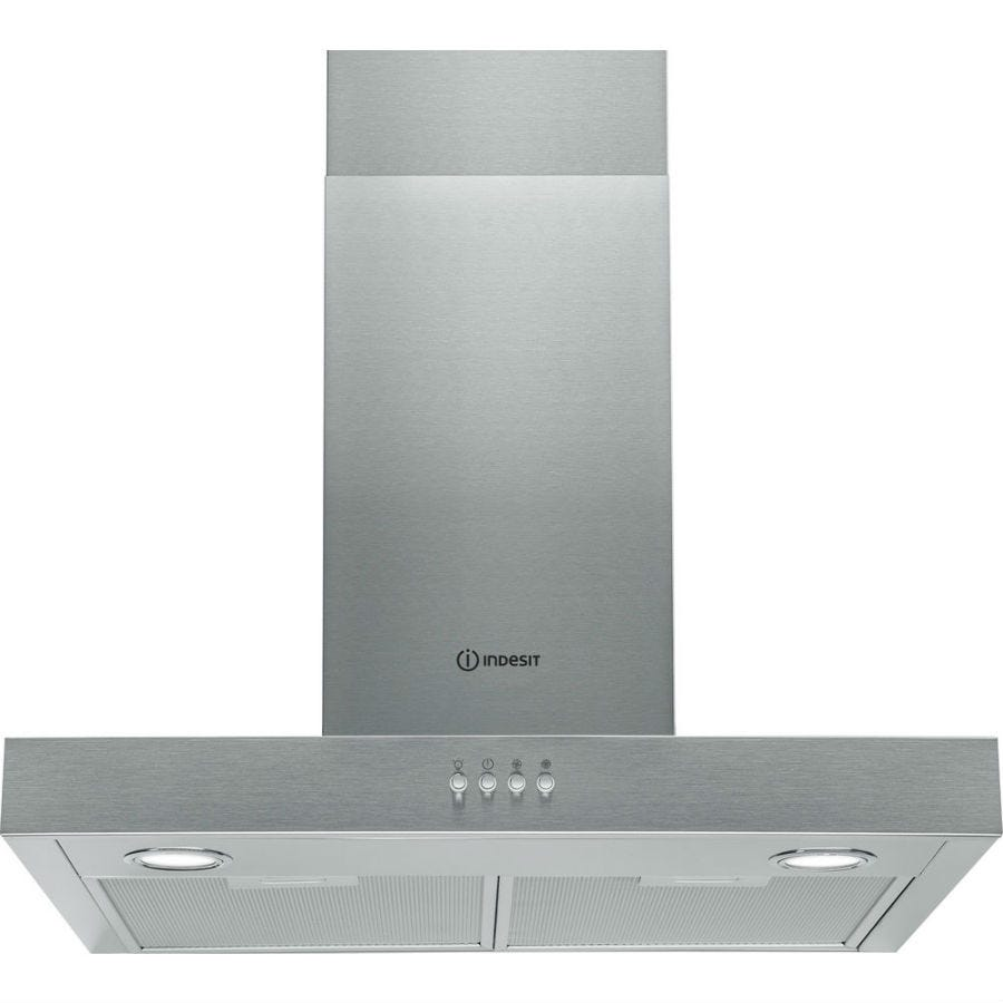 Compare cheap offers & prices of Indesit IHBS64AMX 60cm Cooker Hood - Stainless Steel manufactured by Indesit