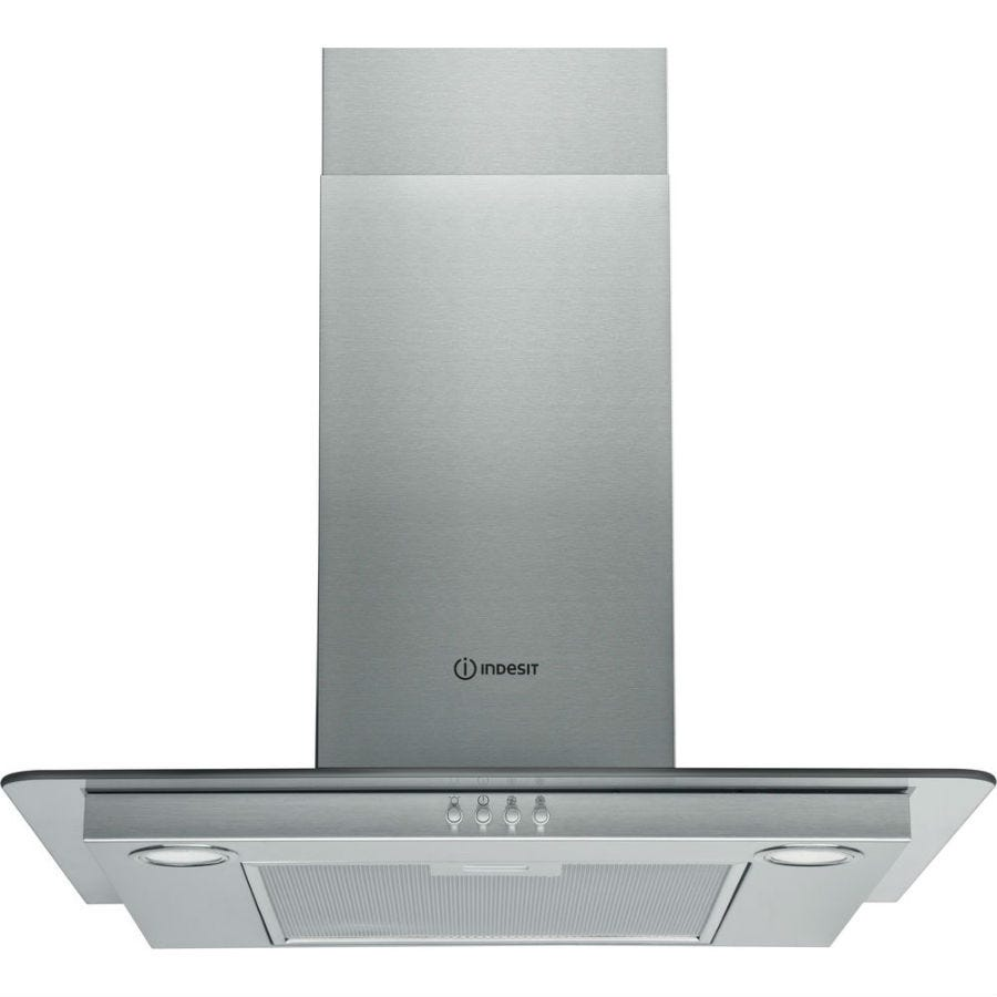 Compare cheap offers & prices of Indesit IHF64AMX 60cm Cooker Hood - Stainless Steel manufactured by Indesit