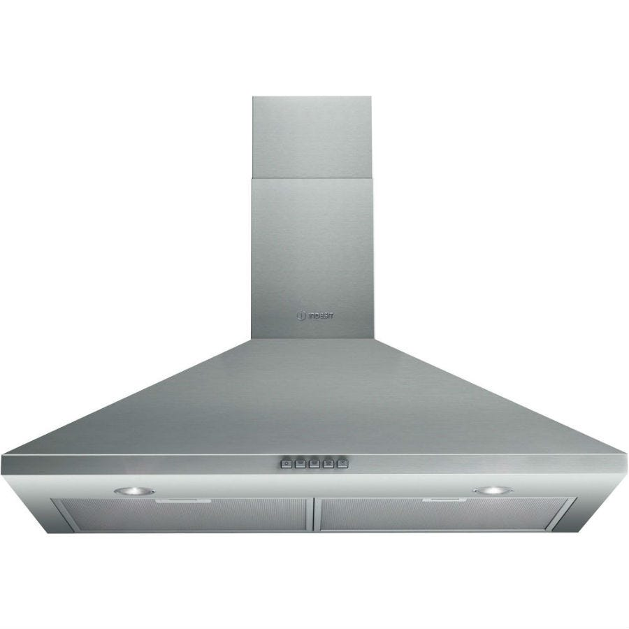 Compare cheap offers & prices of Indesit IHP945CMIX 90cm Cooker Hood - Stainless Steel manufactured by Indesit