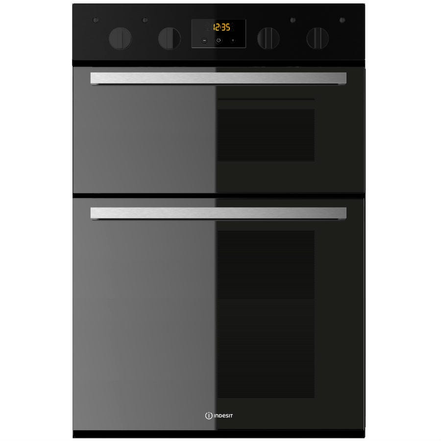 Compare retail prices of Indesit IDD6340BL Oven - Black to get the best deal online