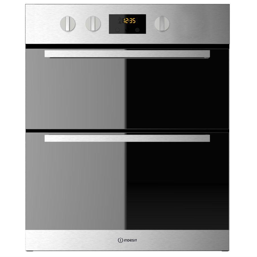 indesit idu6340ix built-under oven - stainless steel