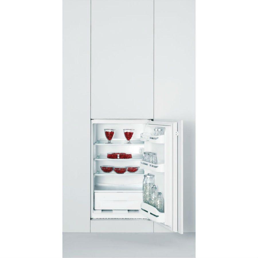 indesit in s 1612 built-in fridge - white