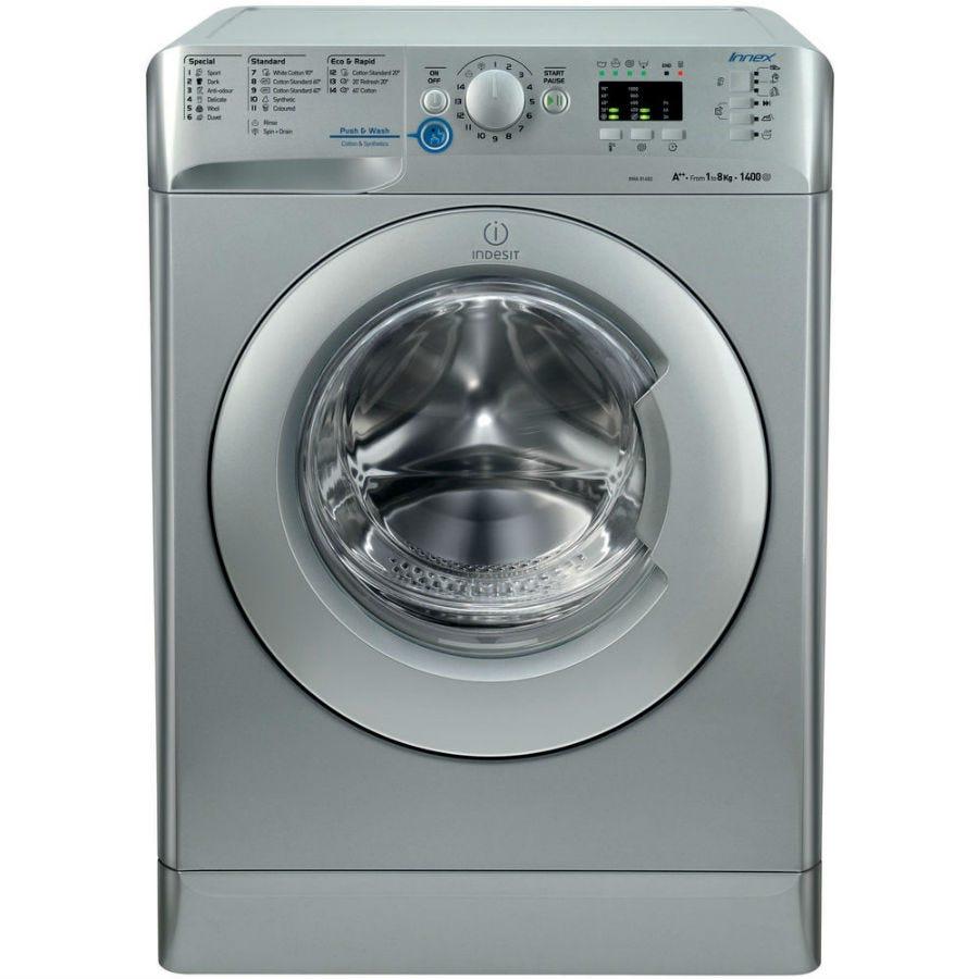 Indesit Innex XWA81482XS Washing Machine - Silver