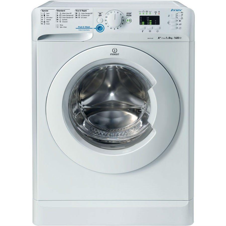 Indesit Innex XWA81482XW Washing Machine - White-discontined