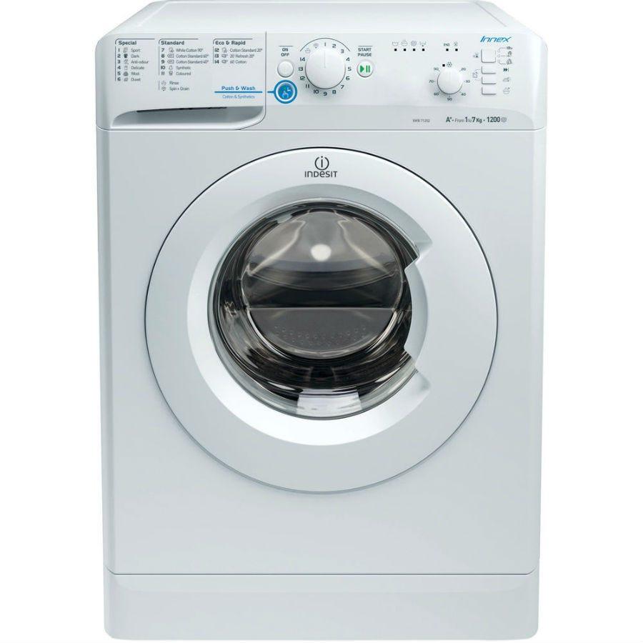 Indesit Innex XWB71252W Washing Machine - White