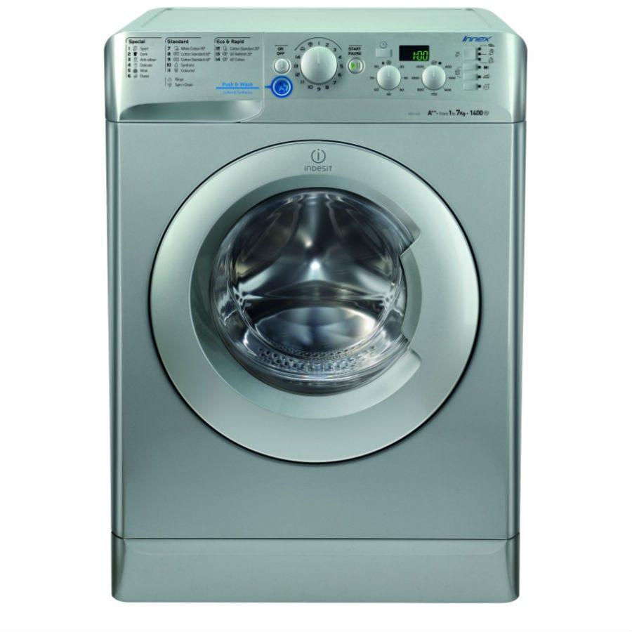 Indesit Innex XWD71452S Washing Machine - Silver
