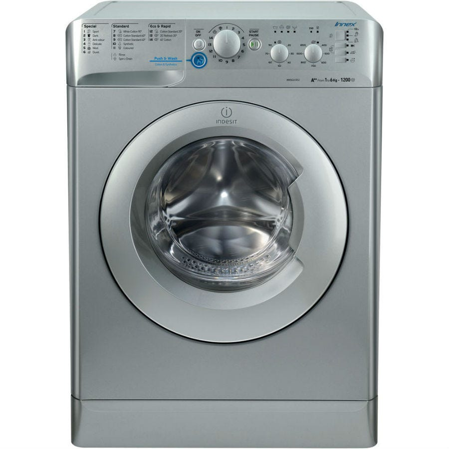 Indesit Innex XWSC61252S 6kg Washing Machine