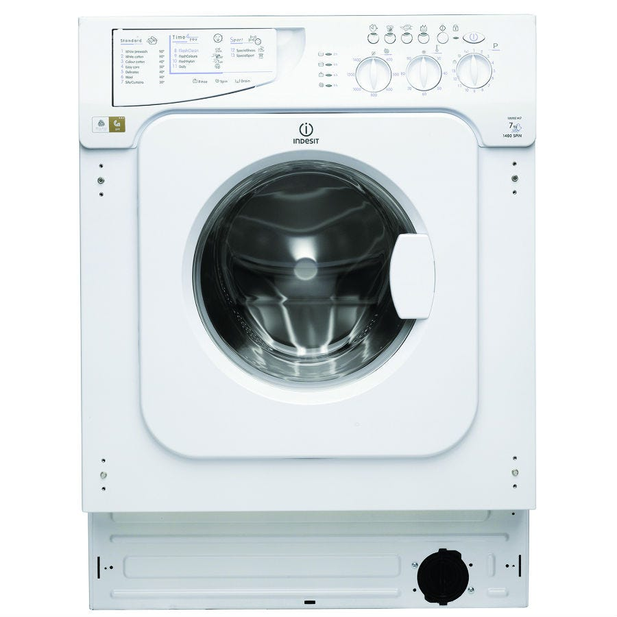 Indesit Iwme147 7kg Built In Washing Machine Octer