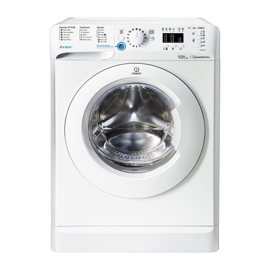 indesit innex bwa 81483x s washing machine - white