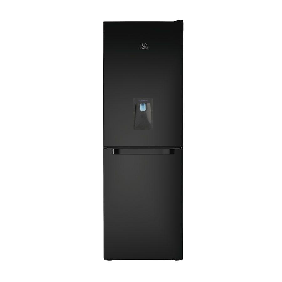 indesit ld70n1swtd fridge freezer - black