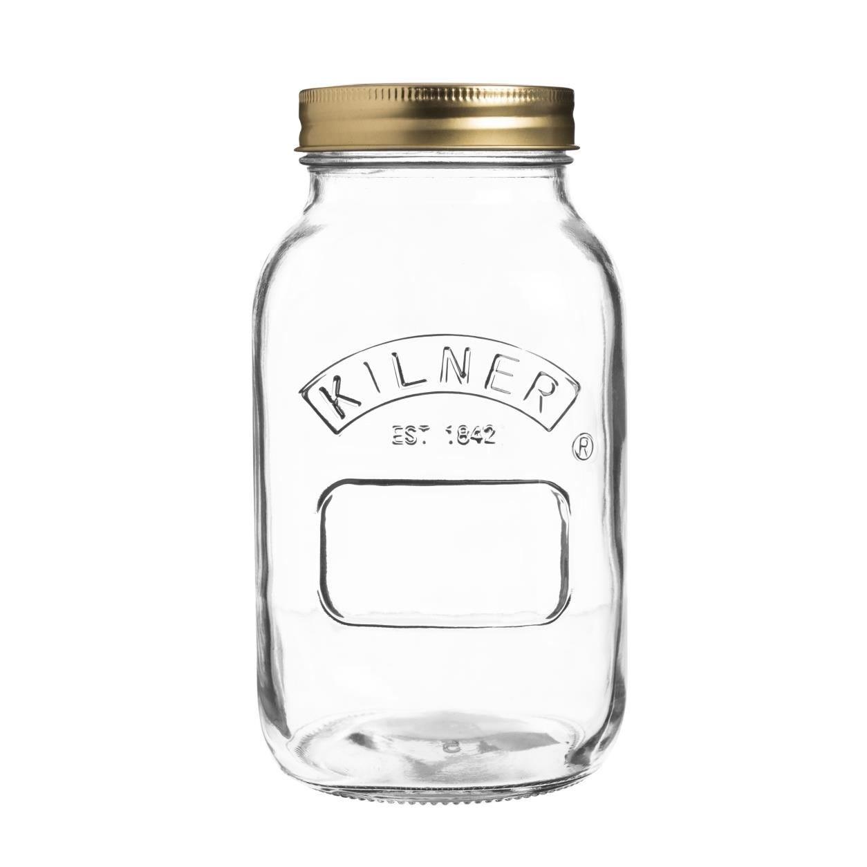 Compare prices for Kilner 1L Screw Top Preserve Jar