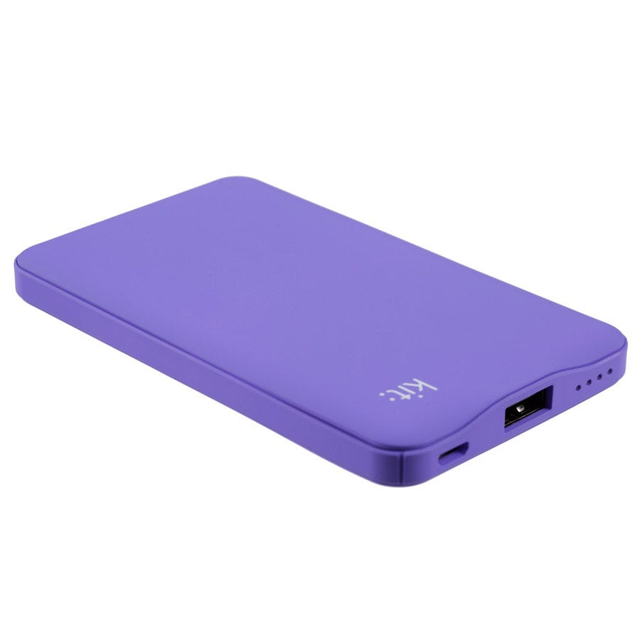 Image of Kit 6,000mAh Power Bank - Purple