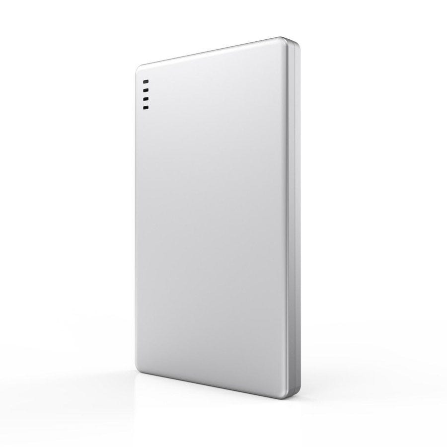 Image of Kit Business Card Power Bank - Silver