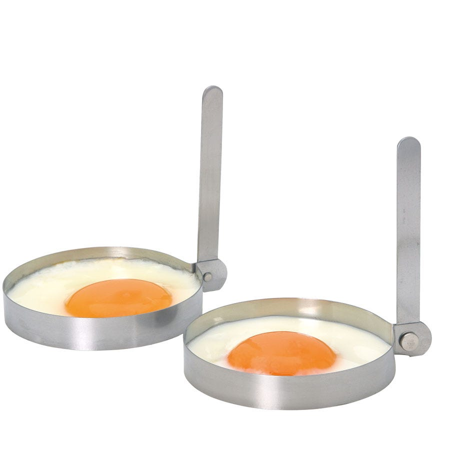 Compare prices for Kitcheb Craft Kitchen Craft Round Egg Rings - Set of 2